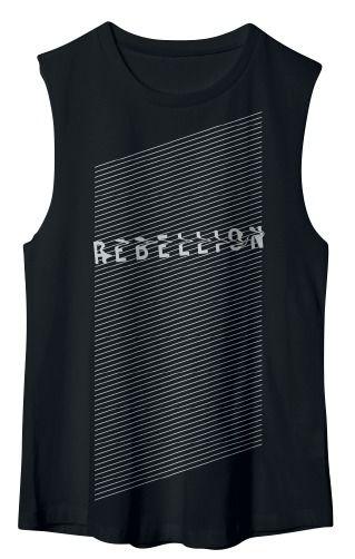 Comprar Linkin Park Rebellion Camiseta sin mangas Negro