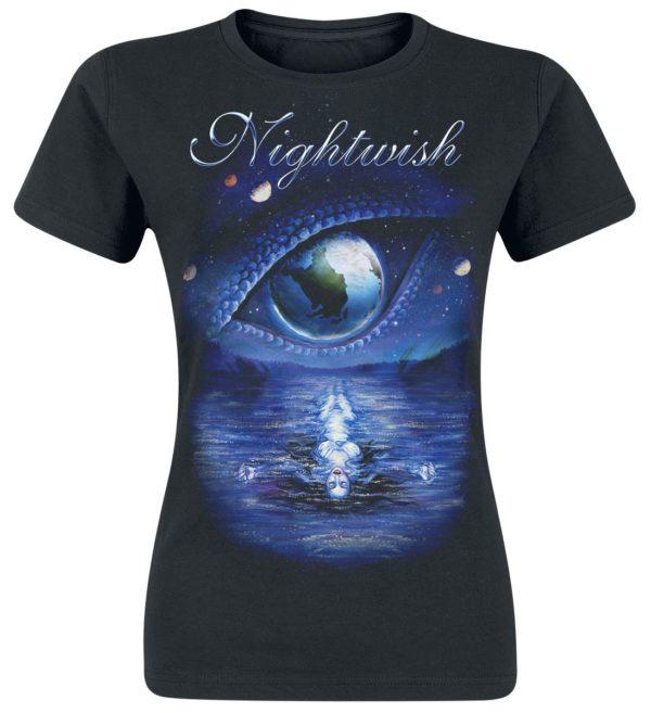 Comprar Nightwish Oceanborn - Decades Camiseta Mujer Negro