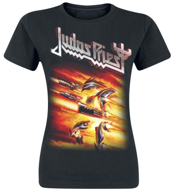 Comprar Judas Priest Firepower Camiseta Mujer Negro