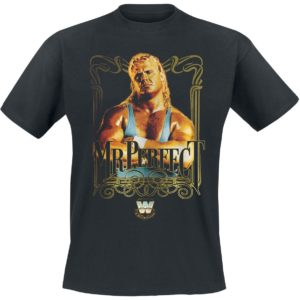 Comprar WWE Curt Hennig - Mr. Perfect Camiseta Negro