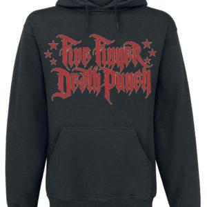Comprar Five Finger Death Punch Justice-Graffiti Sudadera con capucha Negro