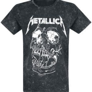 Comprar Metallica Shortest Straw Camiseta Negro