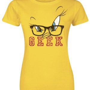 Comprar Looney Tunes Tweety - Geek Camiseta Mujer Amarillo