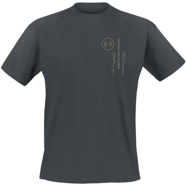 Comprar Twenty One Pilots Technical Vertical Camiseta Negro