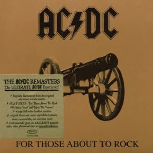 Comprar AC/DC For those about to rock CD standard