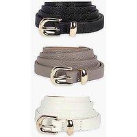 Comprar Pack de 3 cinturones finos