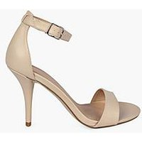 Comprar Zapatos de tacón medio skinny en dos piezas atado al tobillo