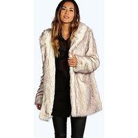Comprar abrigo ártico de piel sintética lois boutique