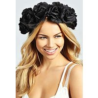 Comprar Halloween Rose Floral Crown