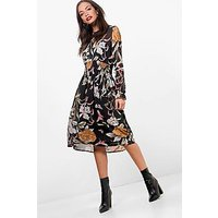 Comprar Floral Skater Midi Dress