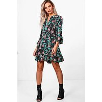 Comprar Multi Ruffle Skater Tea Dress