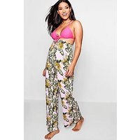 Comprar Maternity Tropical Print Wide Leg Beach Trouser