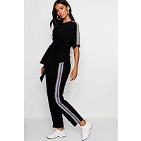 Comprar Conjunto de pantalones de deporte y top con cinta deportiva Bea Premamá