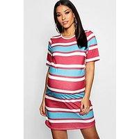 Comprar Vestido estilo camiseta a rayas Premamá