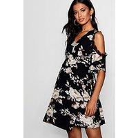 Comprar Maternity Zoey Lace Trim Floral Wrap Dress