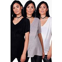 Comprar Maternity 3 Pack Ultimate V Neck T- Shirt