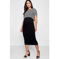 Comprar Maternity Stripe 2 Layer Nursing Dress