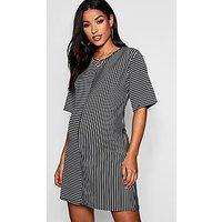 Comprar Maternity Contrast Stripe Tshirt Dress