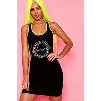 Comprar Woman Print Slinky Bodycon Dress