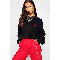 Comprar Suéter ancho con bordados