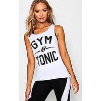 """Comprar Camiseta de tirantes de correr ajustada """"Gym & Tonic"""""""