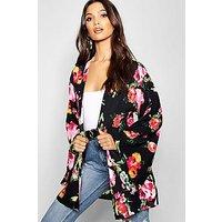 Comprar Kimono de manga ancha con estampado floral