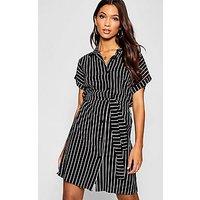 Comprar Woven Stripe Belted Shirt Dress
