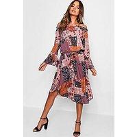 Comprar Bardot Bohemian Print Midi Dress