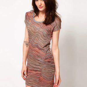 Comprar Vestido de chevron con lateral fruncido de IRO