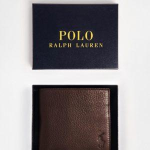 Comprar Cartera de cuero plegable de Polo Ralph Lauren
