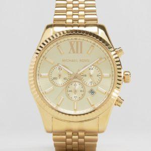 Comprar Reloj con cronógrafo en dorado MK8281 Lexington de Michael Kors