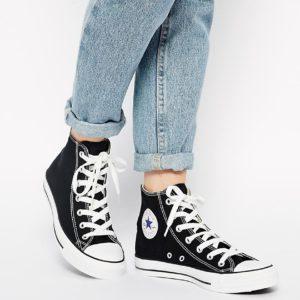 Comprar Zapatillas negras hi-top Chuck Taylor All Star de Converse