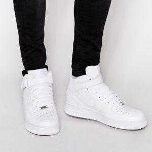 Comprar Zapatillas de deporte mid-top blancas '07 315123-111 Air Force 1 de Nike