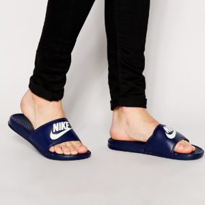 Comprar Sandalias azul marino Benassi jdi 343880-403 de Nike