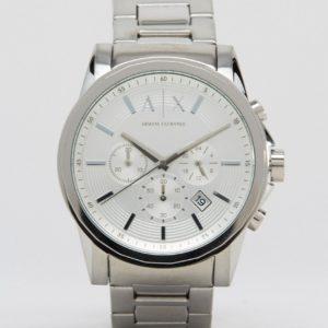 Comprar Reloj de acero inoxidable en plateado AX2058 de Armani Exchange