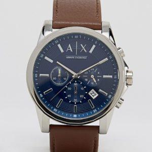 Comprar Reloj con correa de cuero AX2501 de Armani Exchange