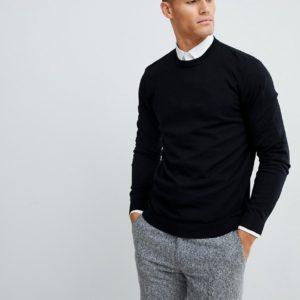 Comprar Jersey de algodón en negro de ASOS DESIGN