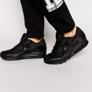 Comprar Zapatillas de deporte negras Air Max 90 Essential 537384-090 de Nike