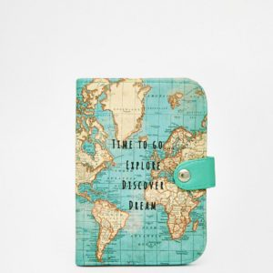Comprar Funda para pasaporte time to explore de Sass & Belle