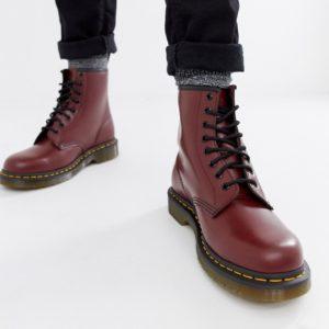Comprar Botas rojas con 8 pares de ojales 11822600 de Dr Martens