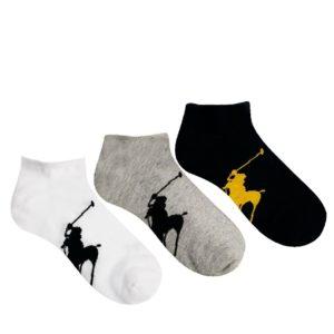 Comprar Pack de 3 calcetines de Polo Ralph Lauren