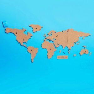 Comprar Mapa para tablón de corcho Luckies