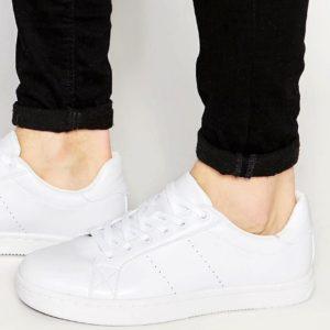 Comprar Zapatillas de deporte blancas de ASOS DESIGN