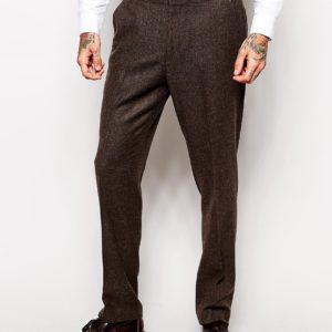 Comprar Pantalones slim de espiga de ASOS