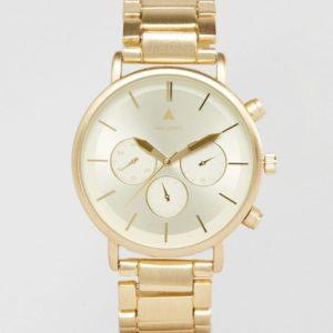 Comprar Reloj de pulsera en dorado cepillado de ASOS DESIGN