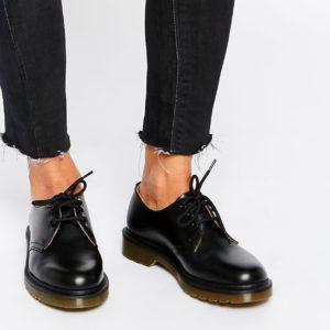 Comprar Zapatos planos clásicos negros 1461 de Dr Martens