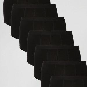 Comprar Pack de 7 calzoncillos negros de ASOS AHORRA