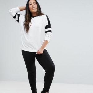 Comprar Leggings de algodón modal muy suaves de ASOS DESIGN Curve Premium