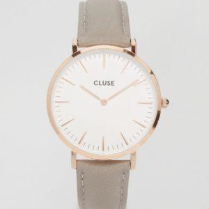 Comprar Reloj de cuero en dorado rosa y gris CL18015 La Boheme de Cluse
