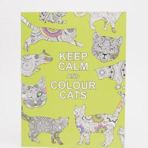 Comprar Libro para colorear Keep Calm & Colour Cats